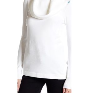 French connection babysoft cowl neck sweater-L